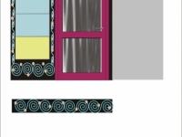 Projekt drzwi|Lanckorona Modrzewiówka