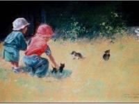 Dzieci z kotkami