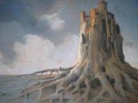 Zamek Mocnych Aniołów|pastel